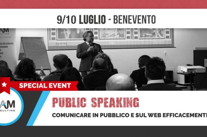 Parlare in pubblico è come volare...