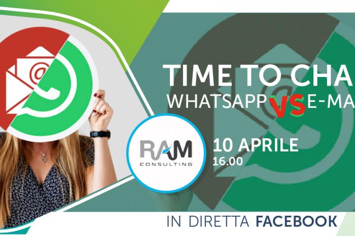 E-mail vs WhatsApp: impossibile senza WhatsApp, ma la vita senza email sarebbe complicata