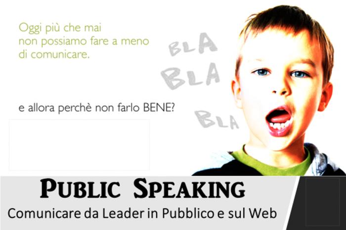 Senza Speaking non hai un Public
