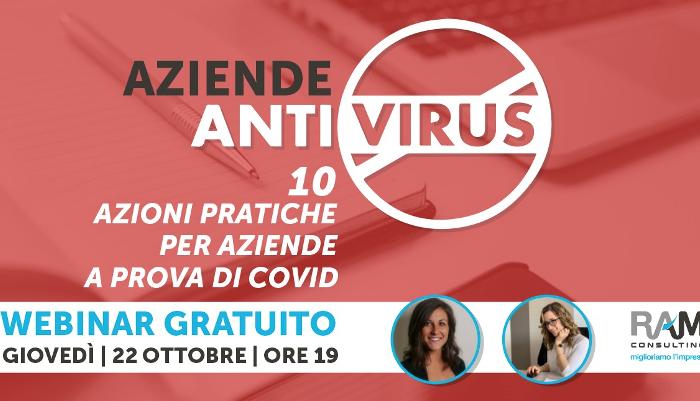 Vuoi l'anti-virus per la tua azienda? Registrati al webinar gratuito