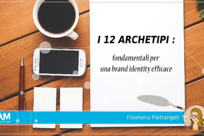 I 12 archetipi: fondamentali per una brand identity efficace